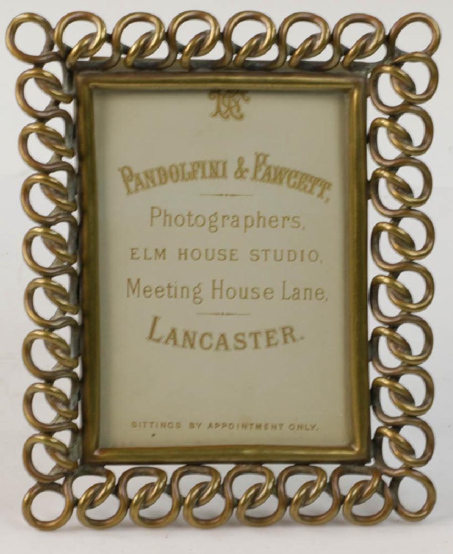 Five Vintage Brass Picture Frames - 3