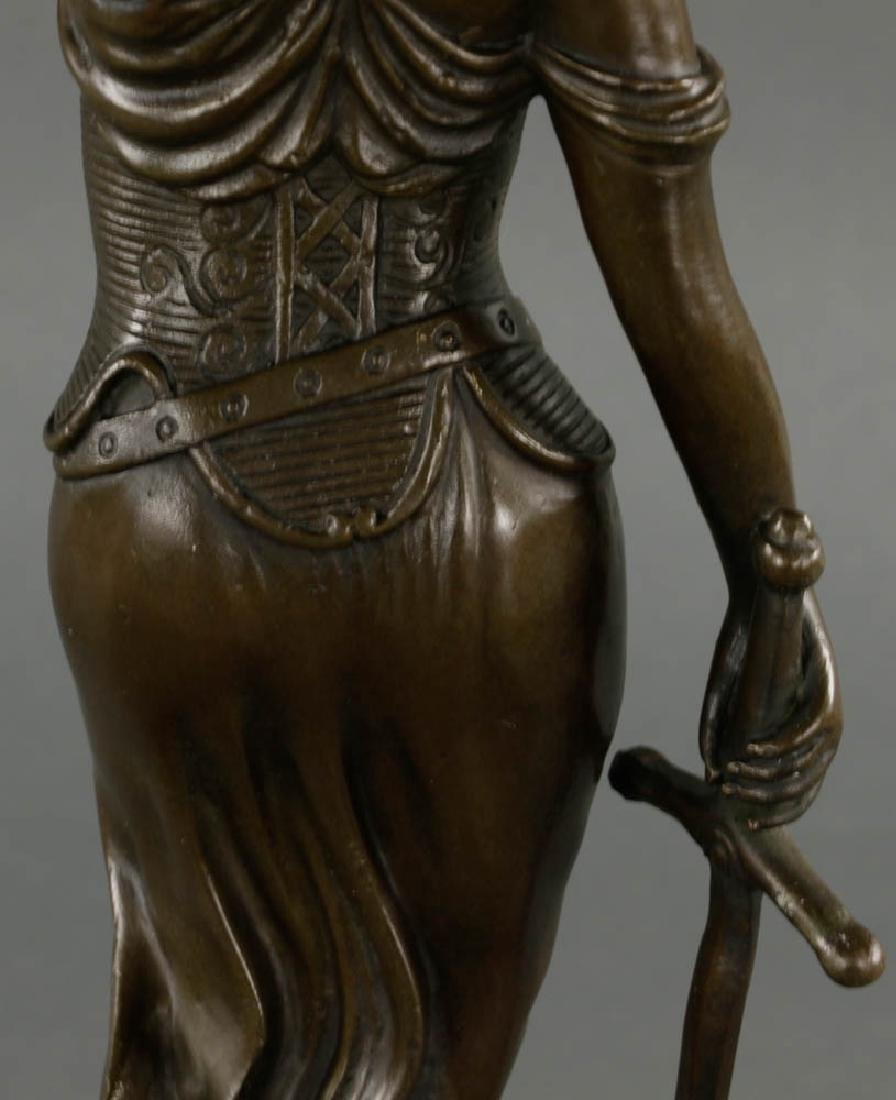 In Manner of Mayer, Lady of Justice, Bronze - 3