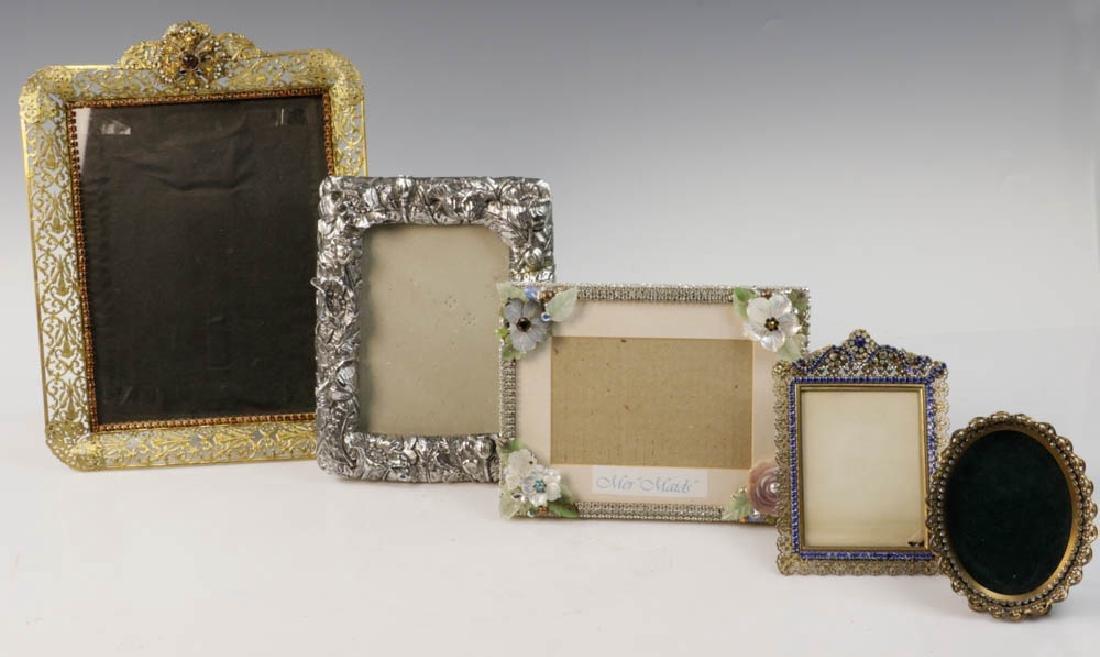 Five Vintage Picture Frames