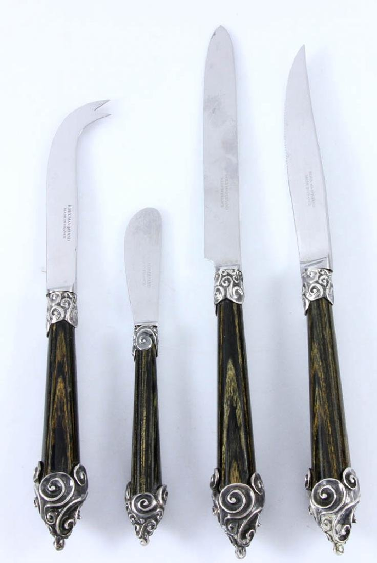 French Silverplate Flatware - 6