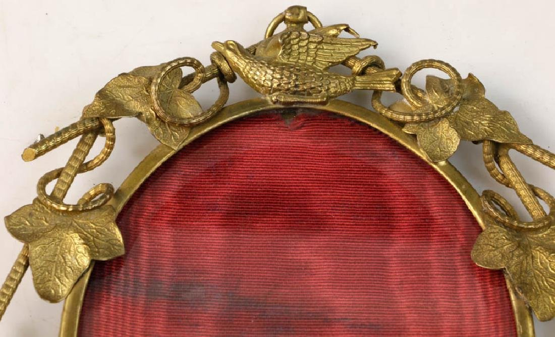 Collection of Antique Brass Picture Frames - 3