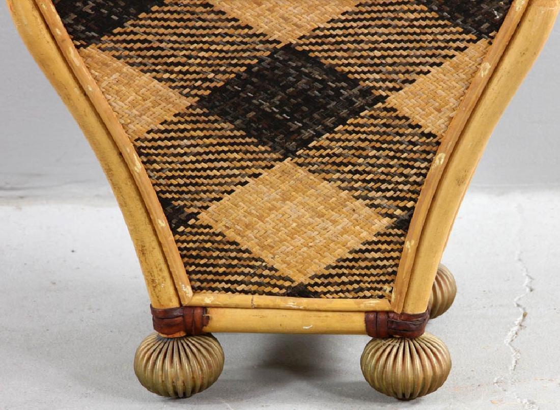 MacKenzie-Childs Designer Waste Basket - 5