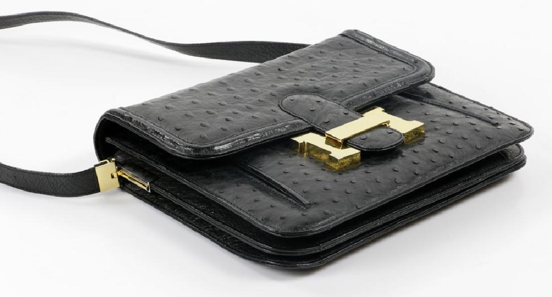 Hermes Style Ostrich Handbag - 2