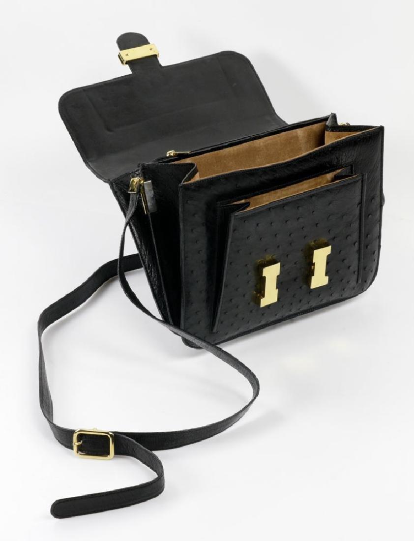 Hermes Style Ostrich Handbag - 3