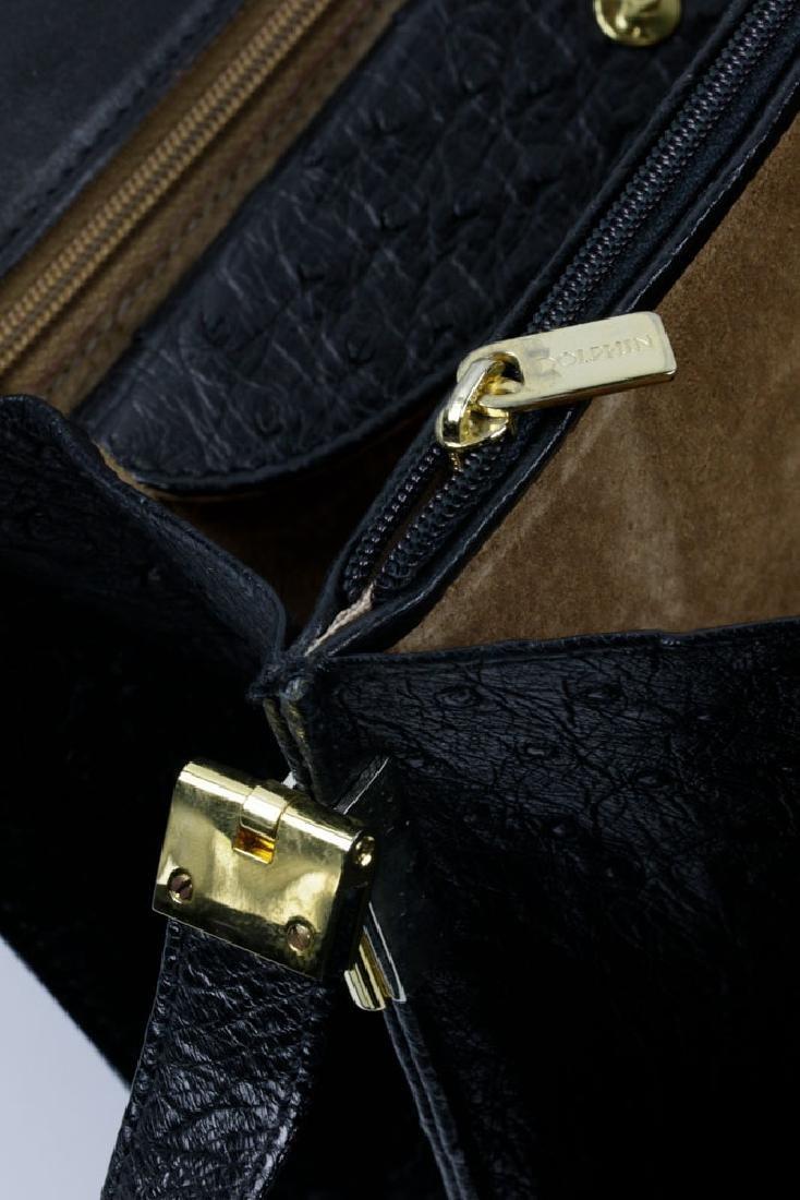 Hermes Style Ostrich Handbag - 4