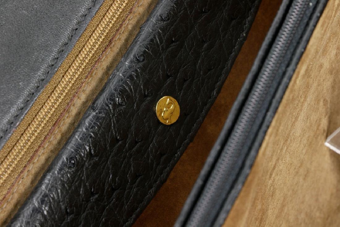 Hermes Style Ostrich Handbag - 5
