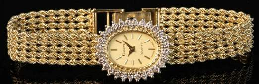 Ladies 14k Geneva Wristwatch