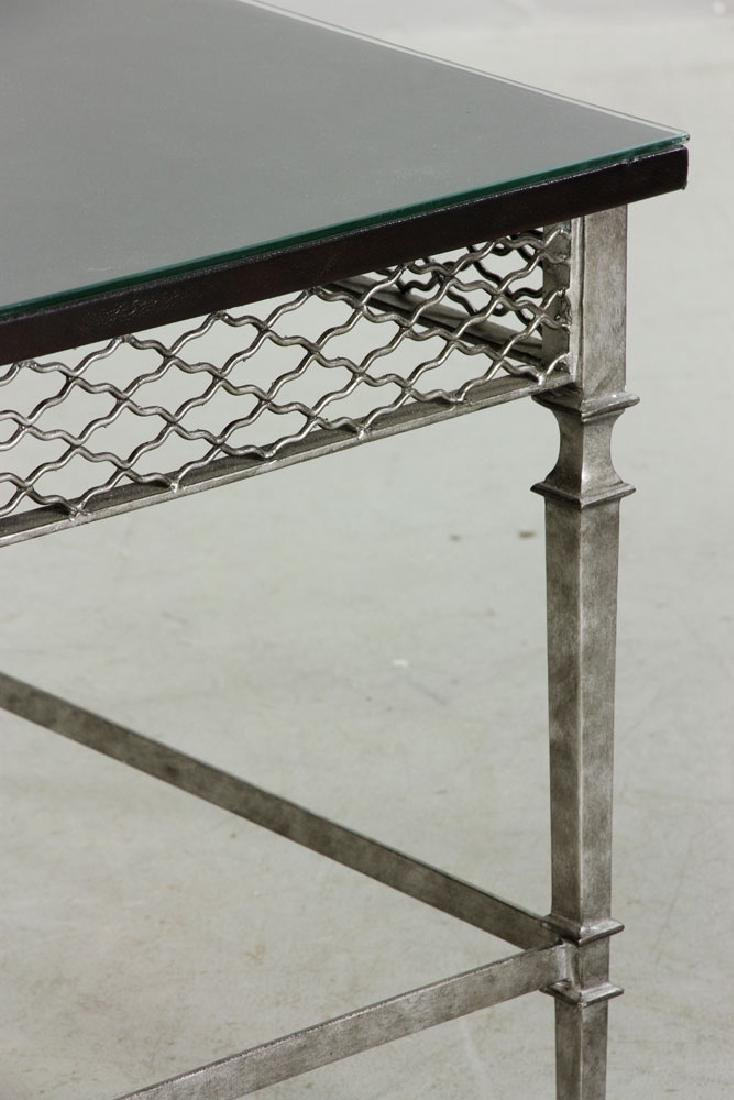 Italian Designer Silvered Table - 3