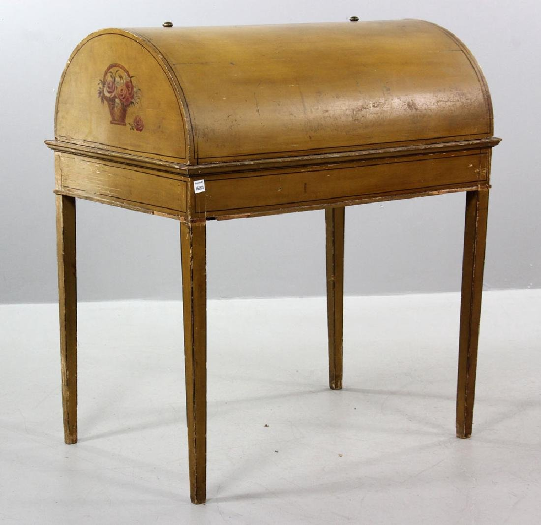 French Style Painted Desk - 10