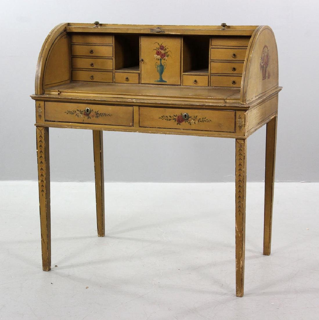 French Style Painted Desk