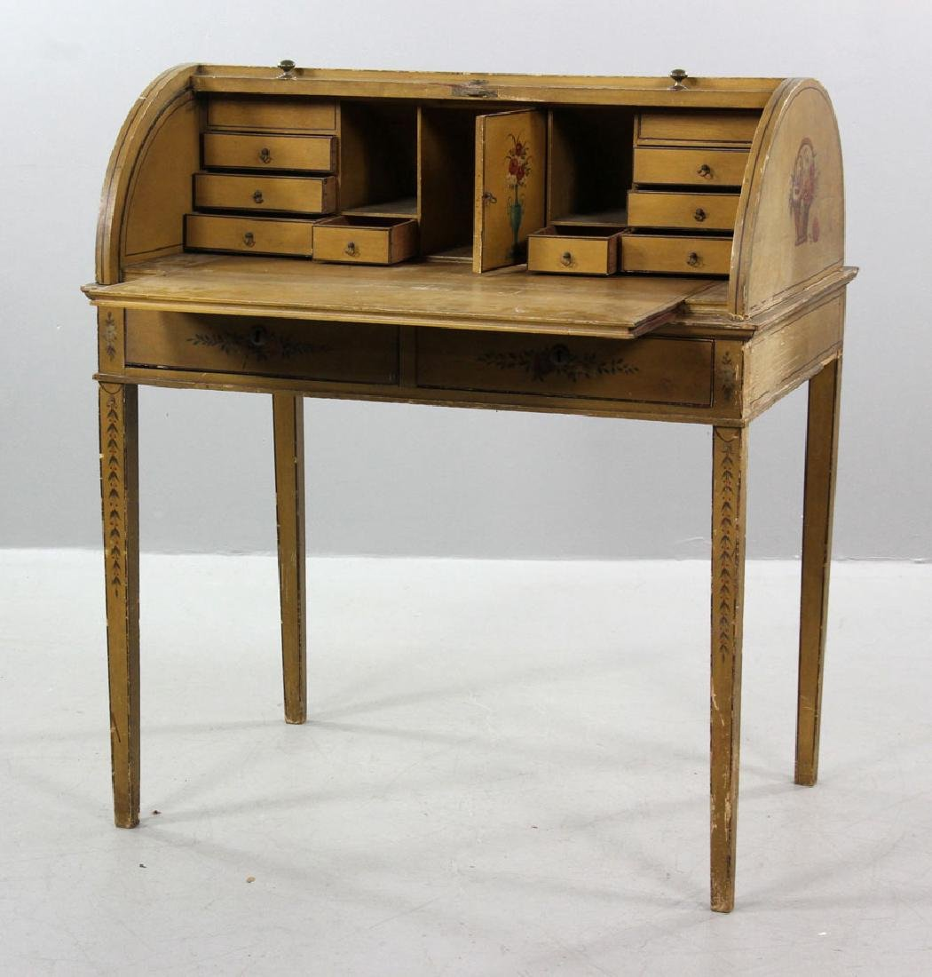 French Style Painted Desk - 2