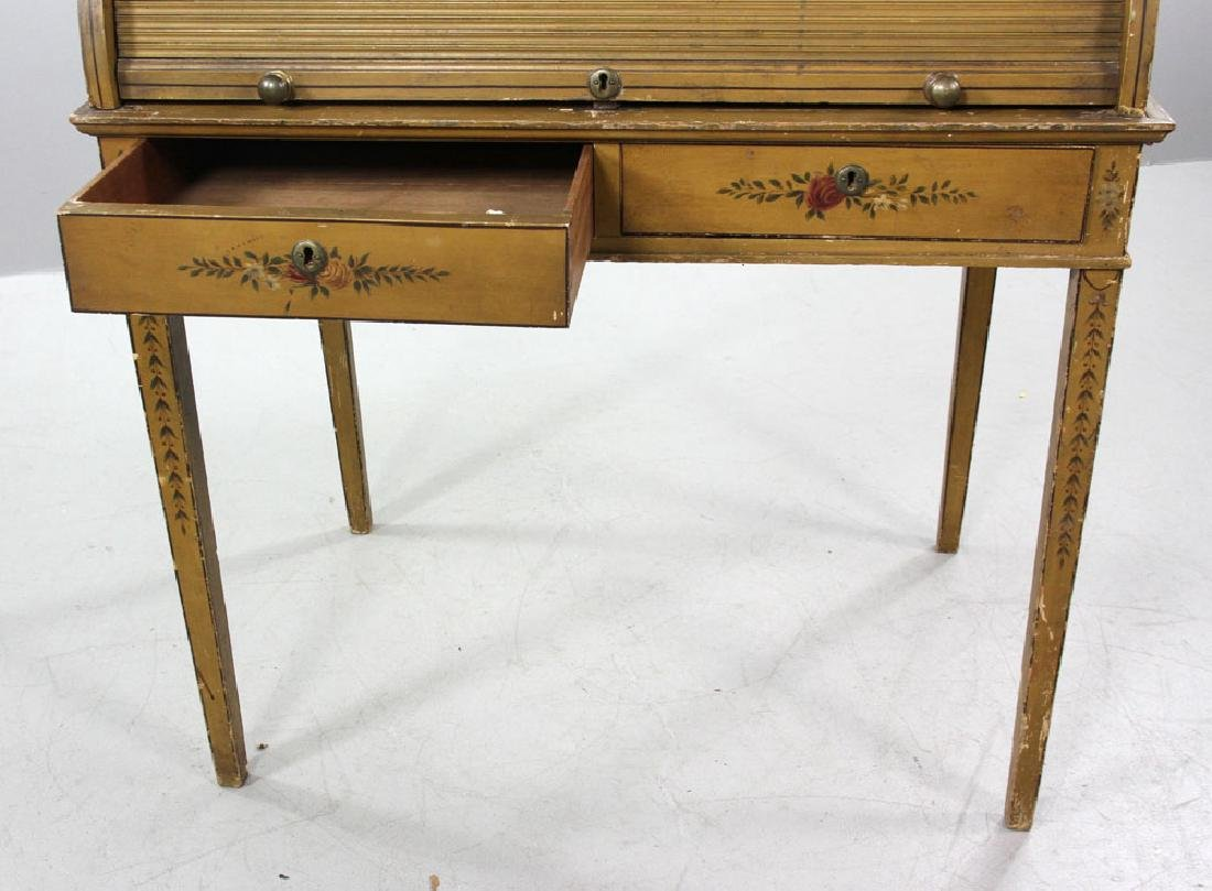 French Style Painted Desk - 4