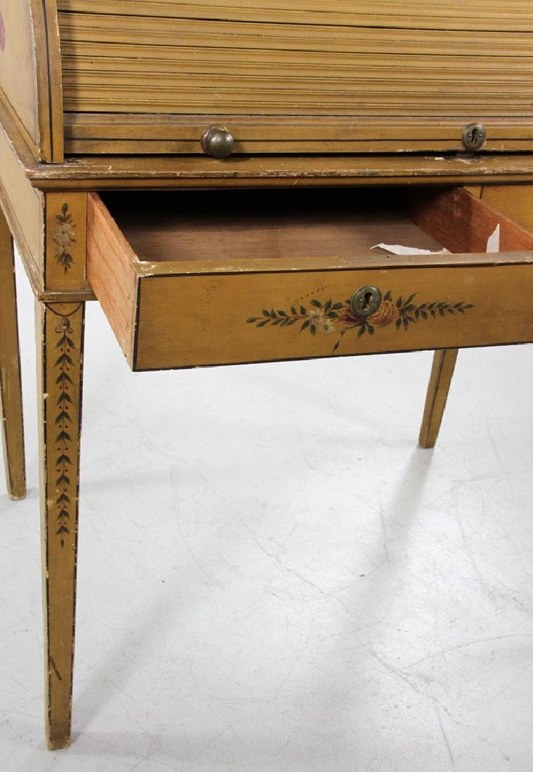 French Style Painted Desk - 5