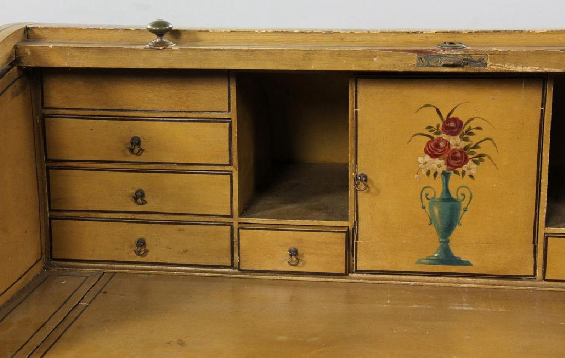 French Style Painted Desk - 6