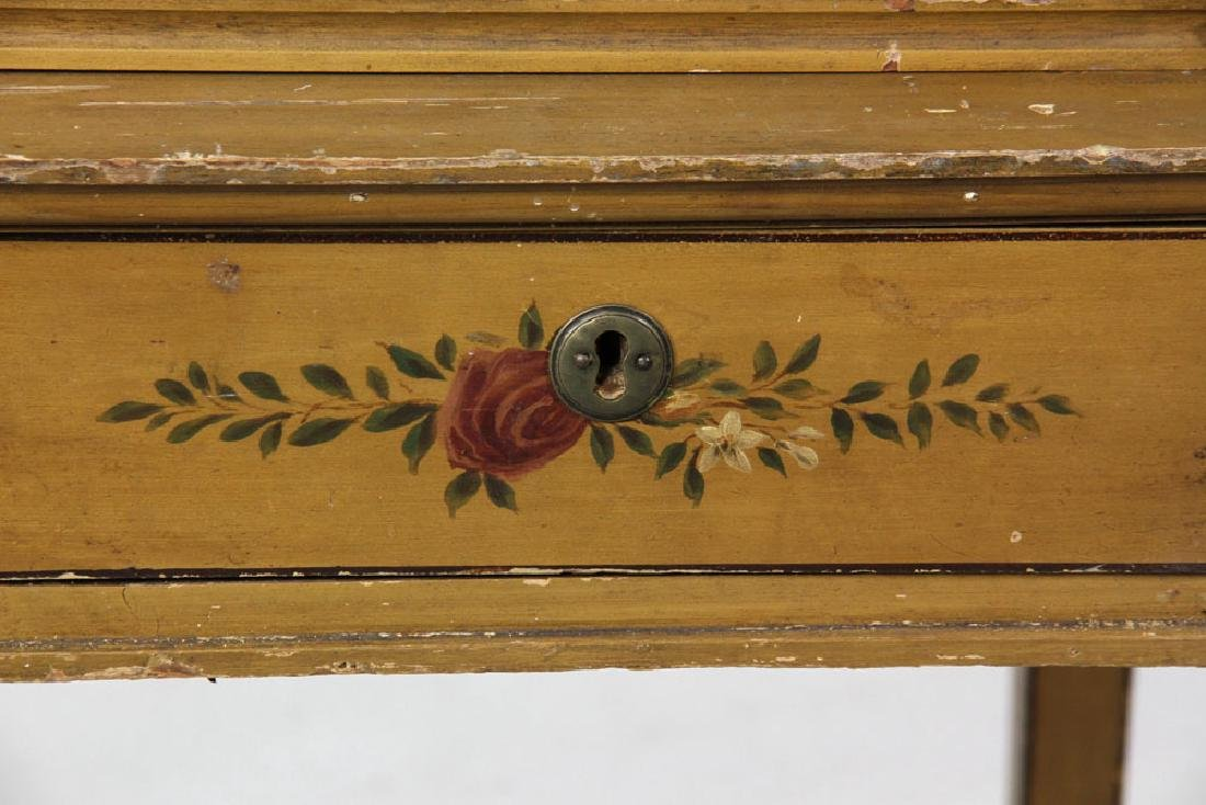 French Style Painted Desk - 9