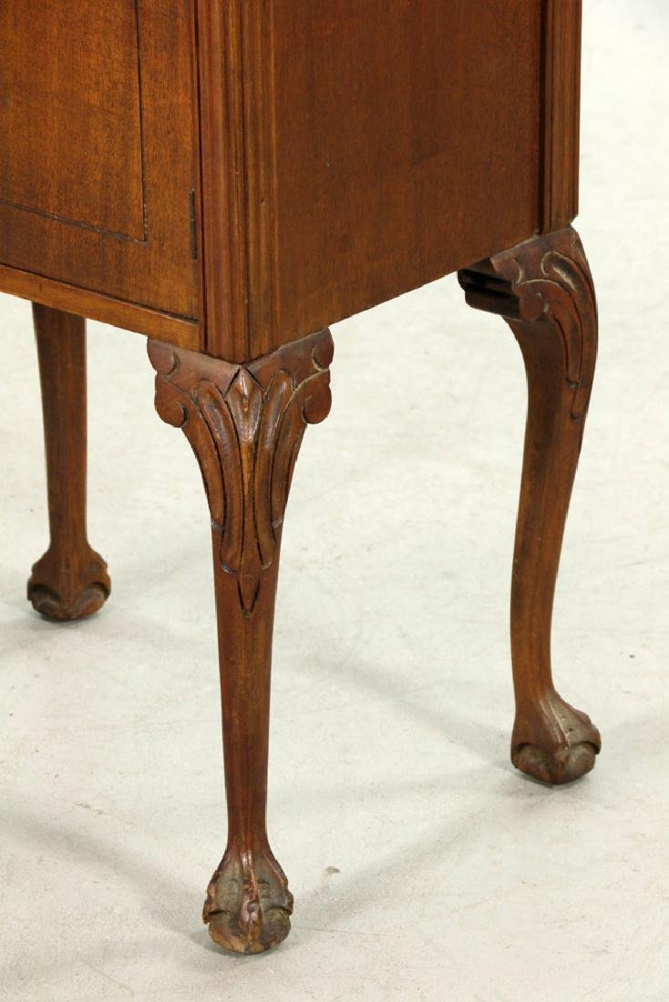 19th/20th C. Pr. of Chippendale Style Marble-top - 4