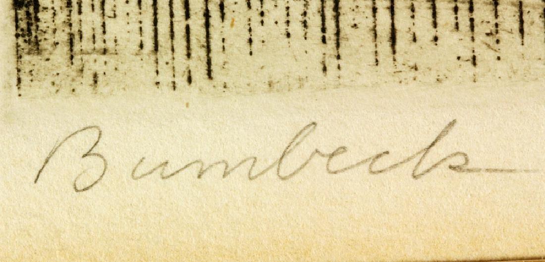 "Bumbeck, ""Island Memory,"" Etching - 5"