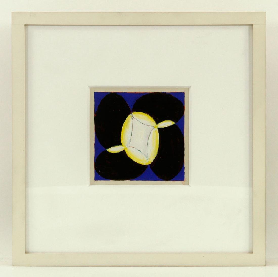 Nazarewycz, Three Abstract Gouache on Paper Works - 4