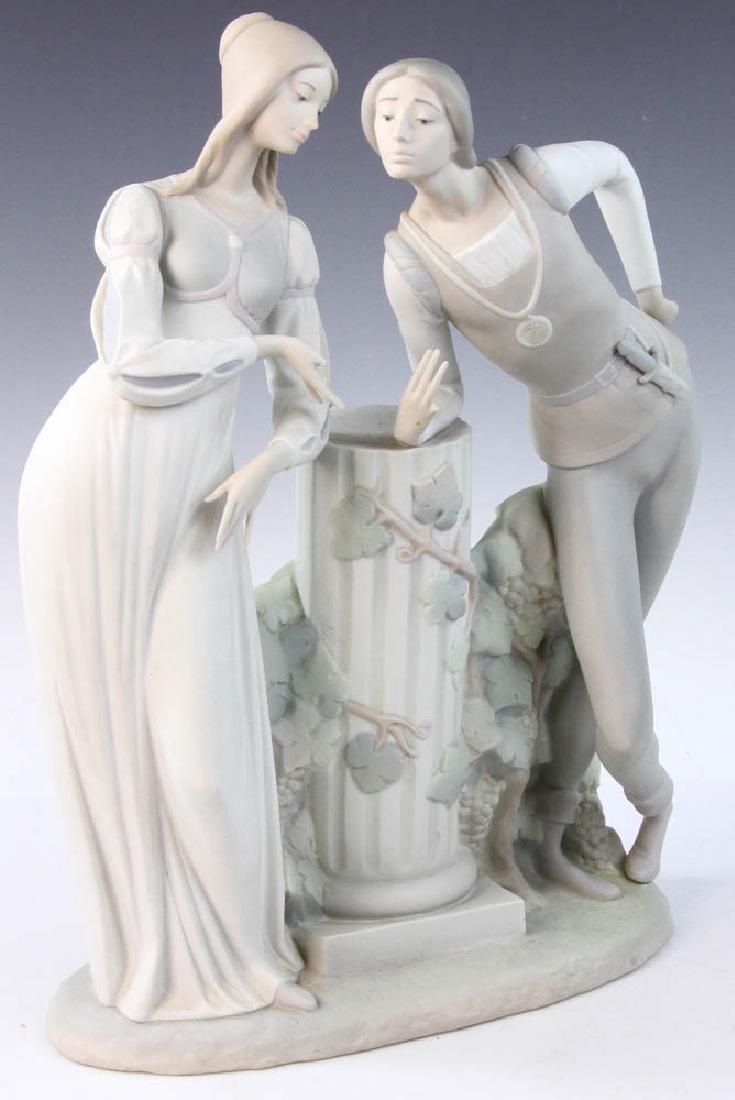 Large Lladro Figurine of Couple