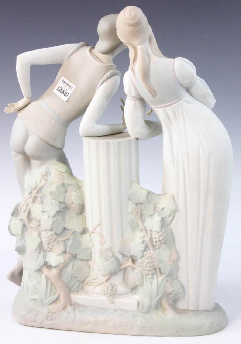 Large Lladro Figurine of Couple - 4