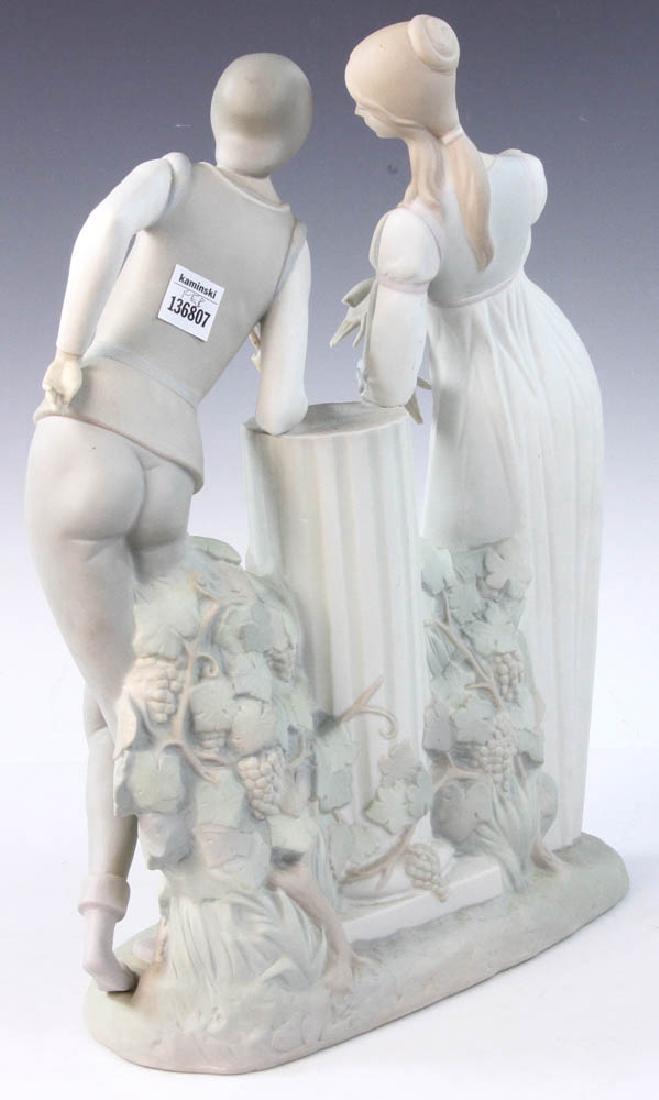 Large Lladro Figurine of Couple - 5