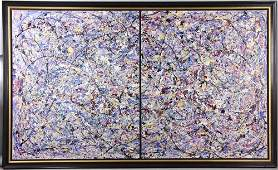 Rita Cohen, Abstract Acrylic on Canvas