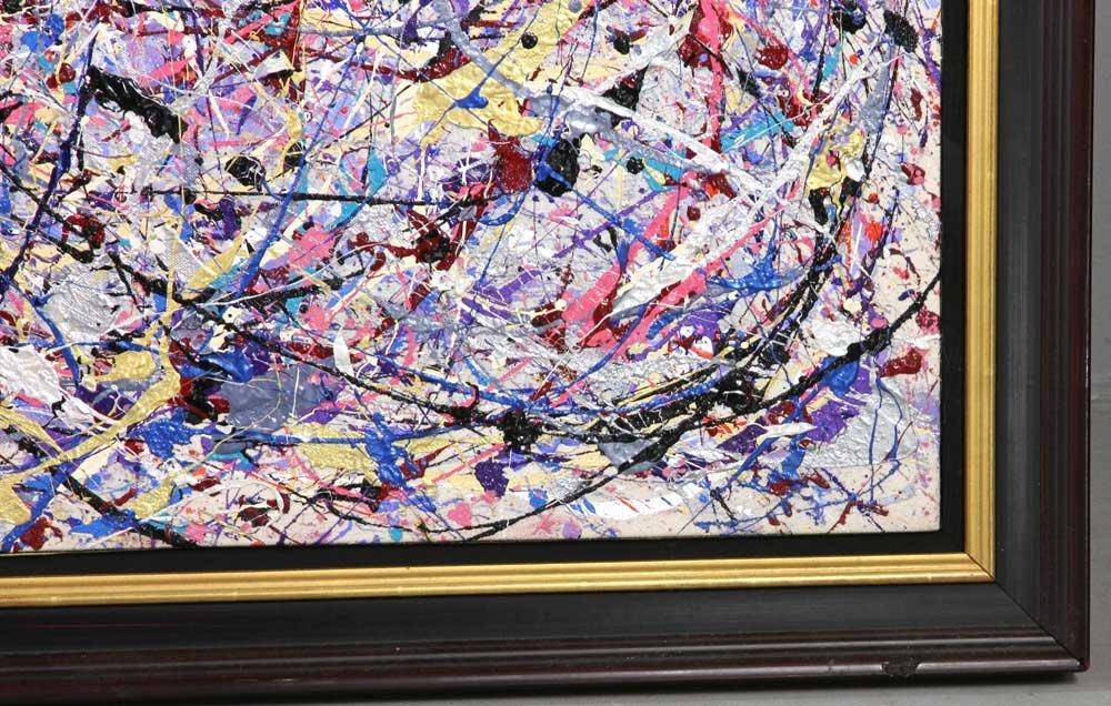 Rita Cohen, Abstract Acrylic on Canvas - 3