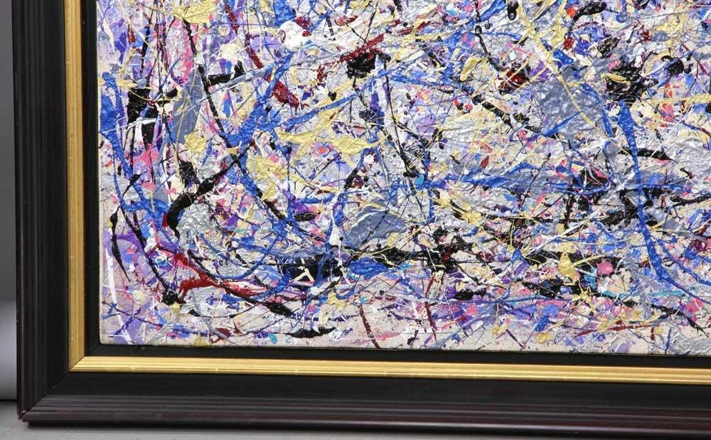 Rita Cohen, Abstract Acrylic on Canvas - 4