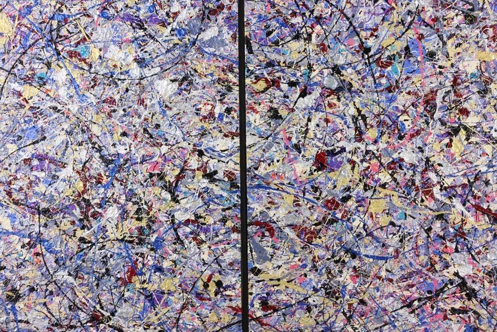 Rita Cohen, Abstract Acrylic on Canvas - 5