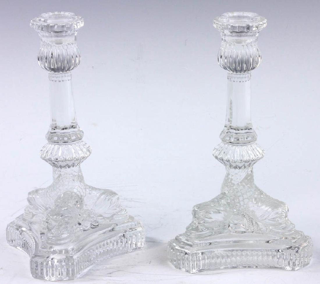 Tiffany & Co. Dolphin Design Candlesticks - 2