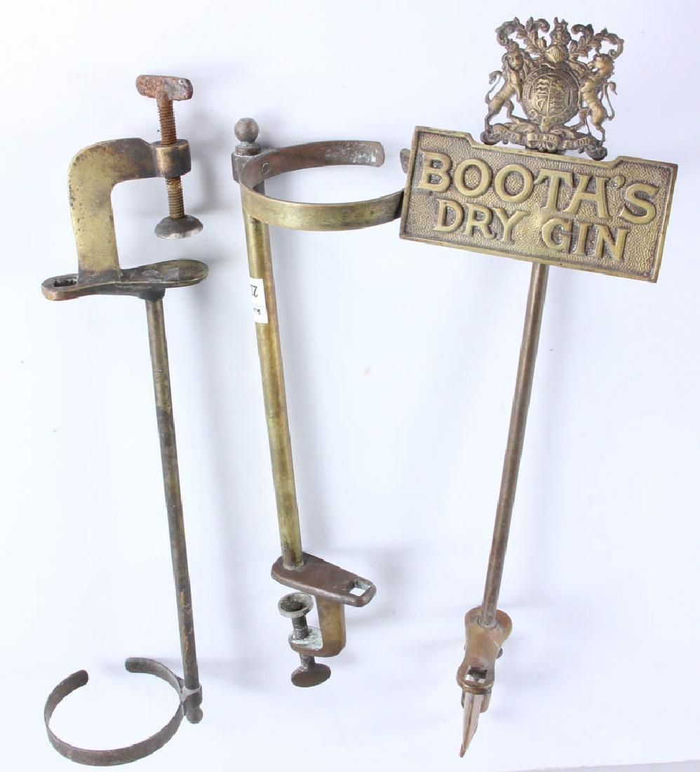 English Brass Bar Accessories - 7