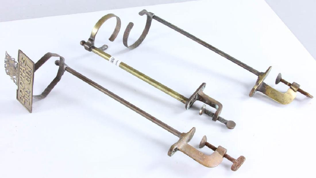 English Brass Bar Accessories - 8
