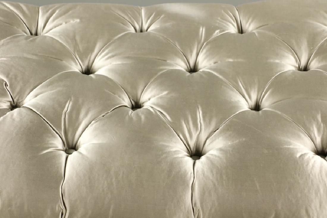 Modern Lucite Upholstered Bench - 5