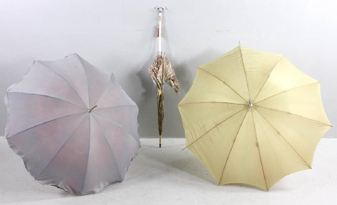 Collection of 19th C. Parasols - 10