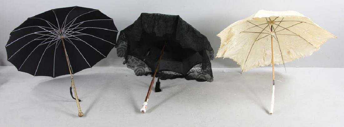 Collection of 19th C. Parasols - 9