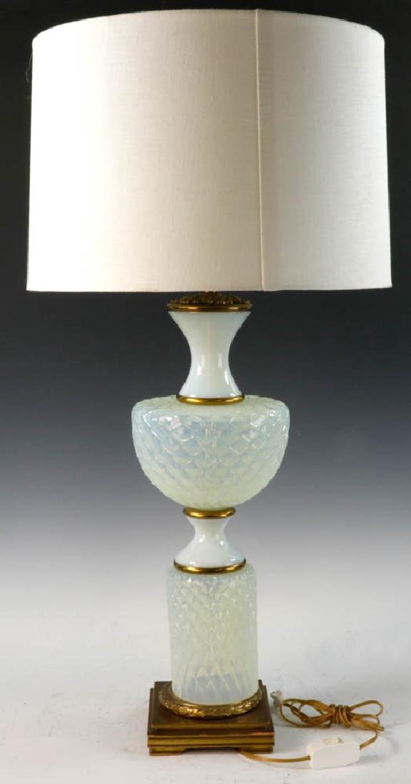 Pair of Italian Opalescent Lamps - 2