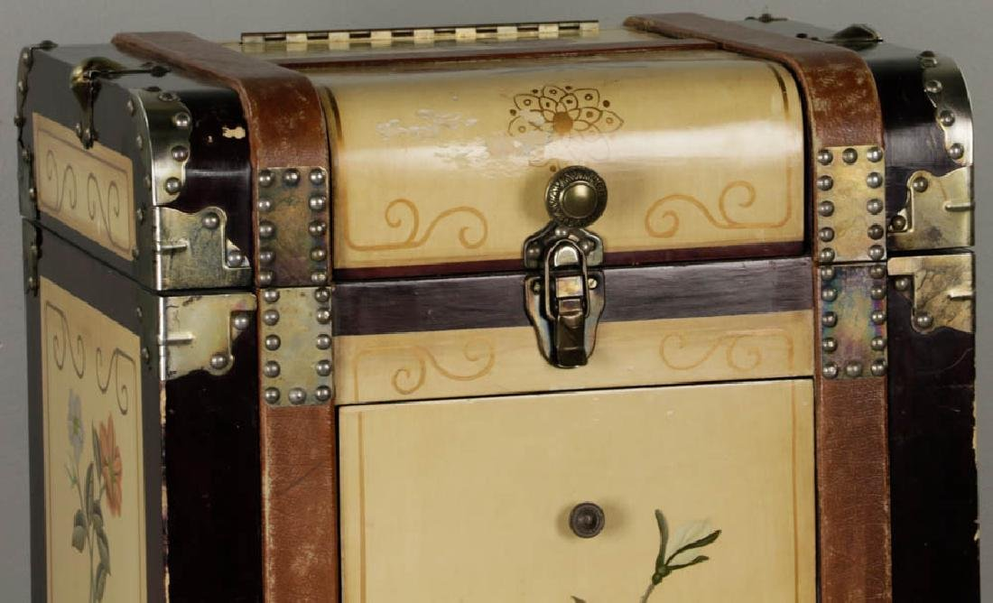 Contemporary Luggage Style Chest - 9