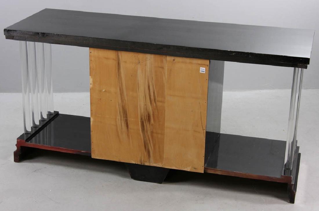 Ebonized Deco Four Drawer Chest - 7