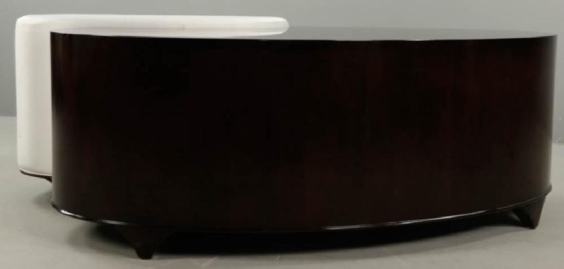 Christopher Guy Lacquered Table and Stool - 3