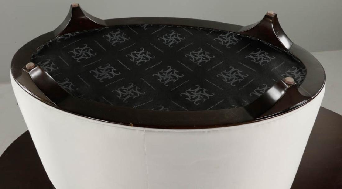 Christopher Guy Lacquered Table and Stool - 7