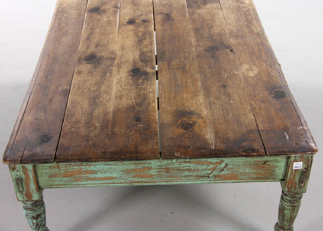 Rustic Cocktail Table - 6