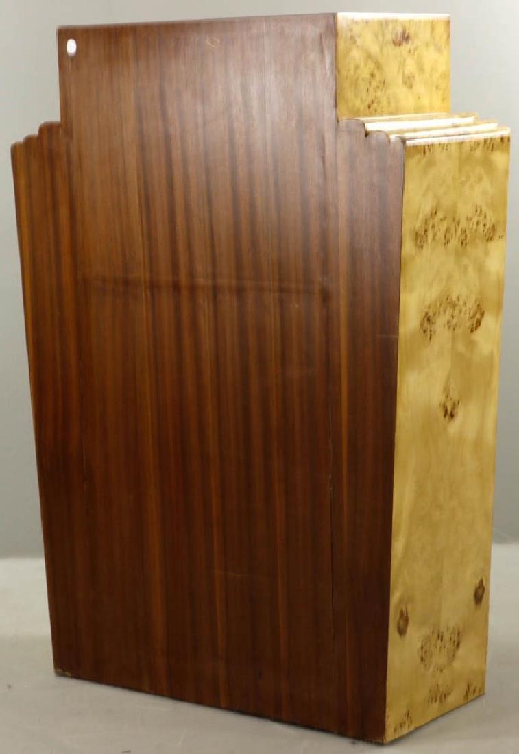 Deco Style Burlwood Desk - 6
