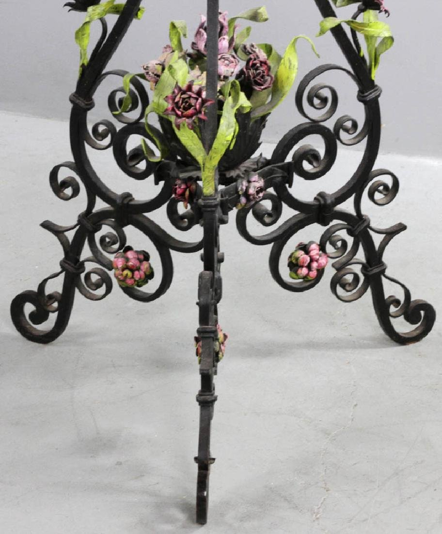 Antique French Marble Top Table - 2