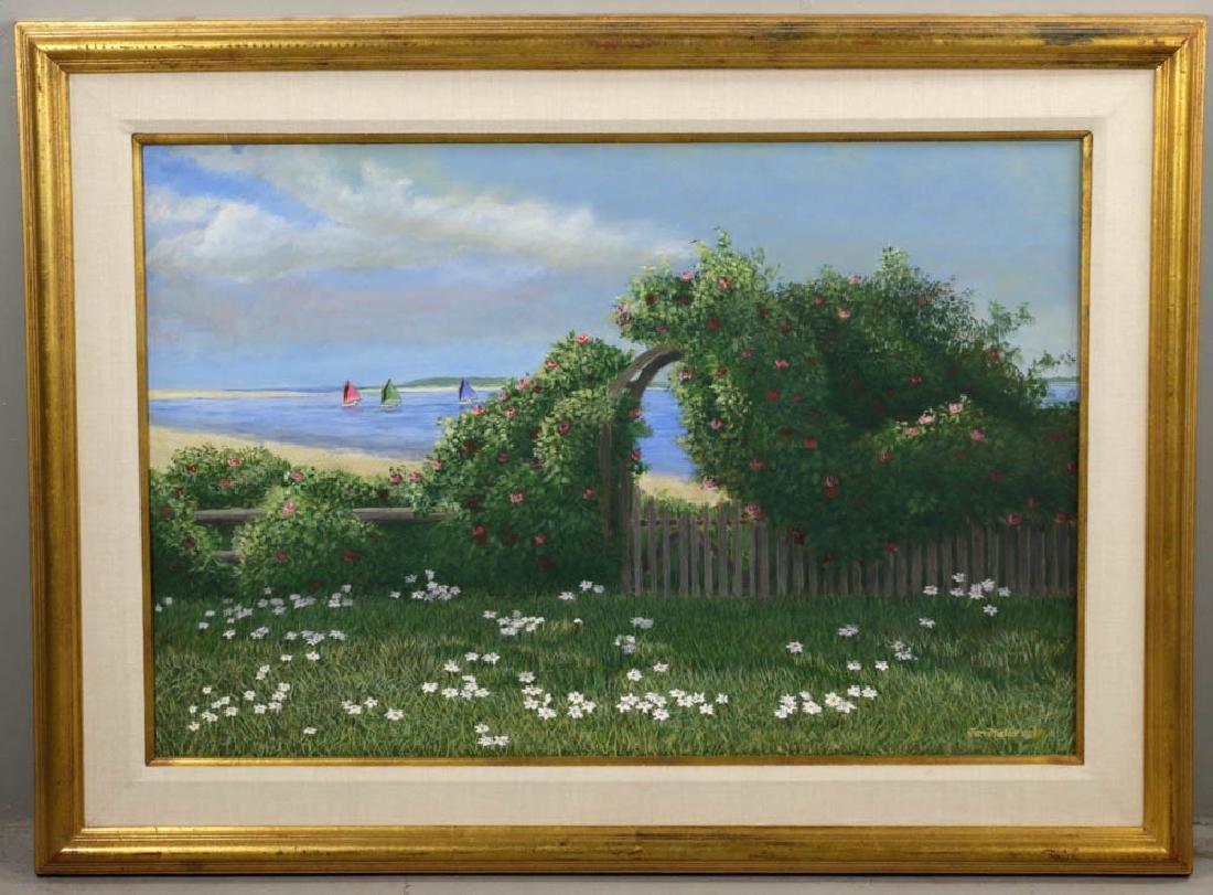 Tom Mielko Oil on Canvas