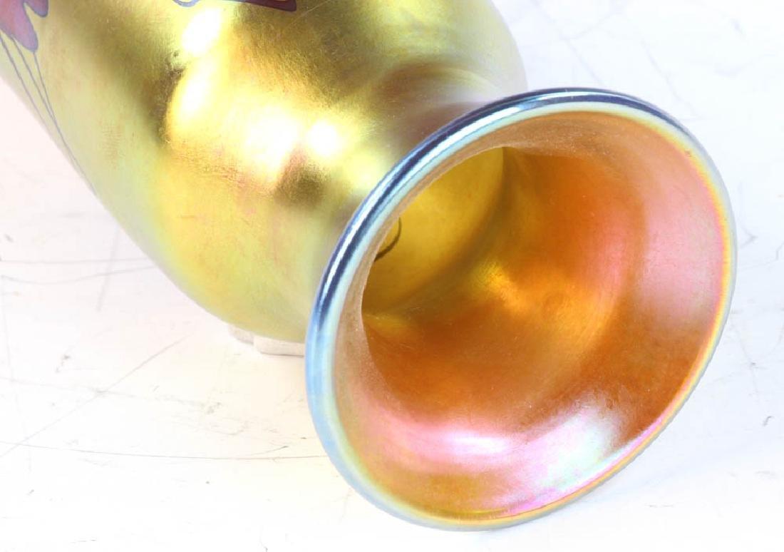 Lundberg Studios Art Glass Vase - 10