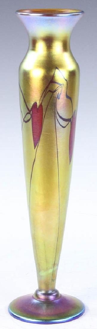 Lundberg Studios Art Glass Vase - 3