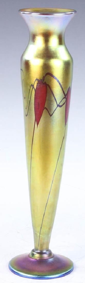 Lundberg Studios Art Glass Vase - 4