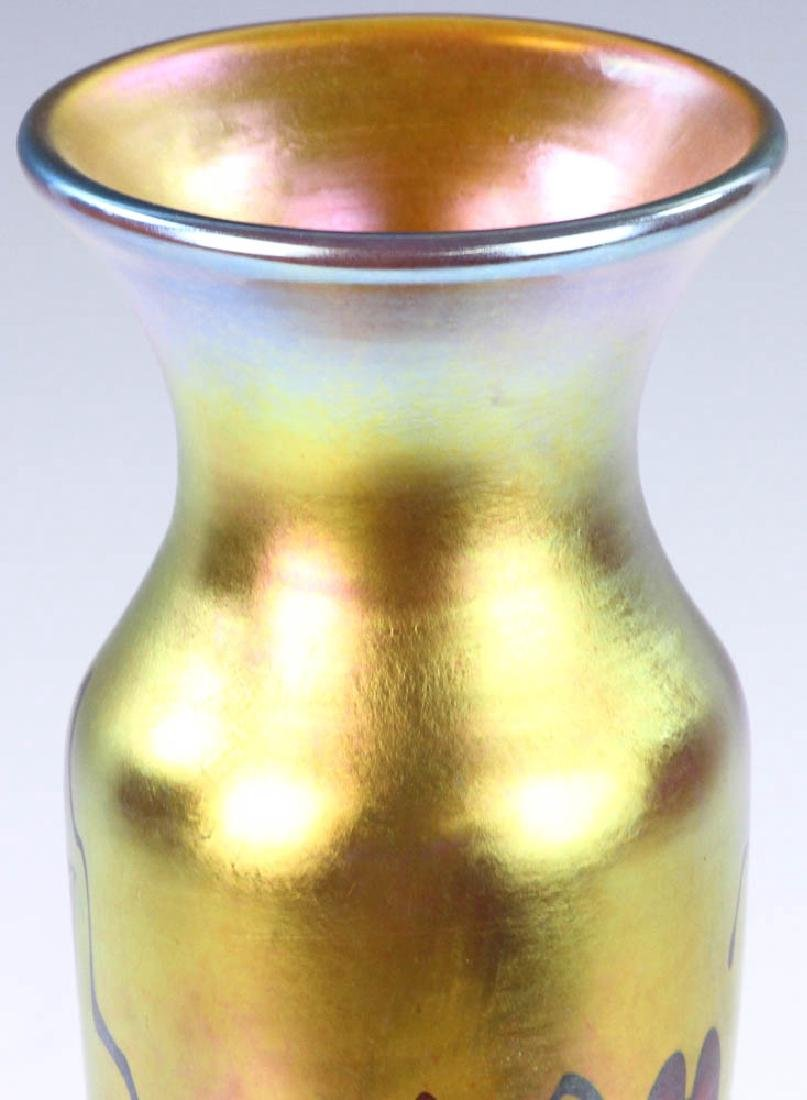 Lundberg Studios Art Glass Vase - 7