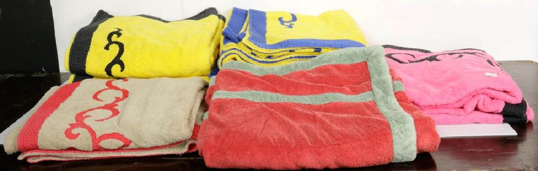 Pratesi Hand-Embroidered Beach Towels