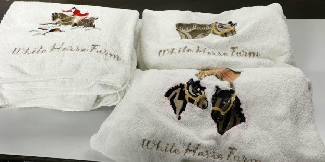Cittadini Towels, Hand Embroidered
